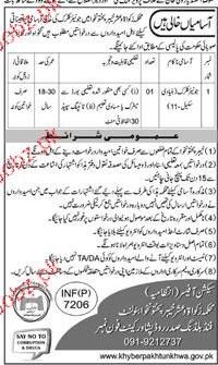 Junior Clerks job in Religious Affairs Auqaf, Zakat & Ushar