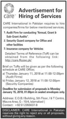 Auditor & Security Guard Jobs Opportunity