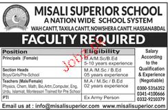 Misali Public School Teaching Jobs