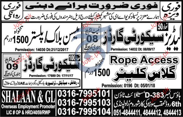 Ladies Security Guards and  Security Guards Job Opportunity