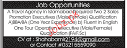 Sales Promotion Executives Job Opportunity
