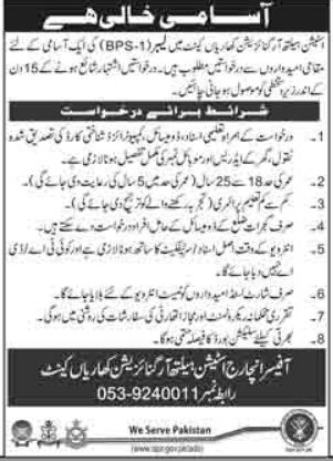 Station Health Organization Kharian Cantt Jobs 2018