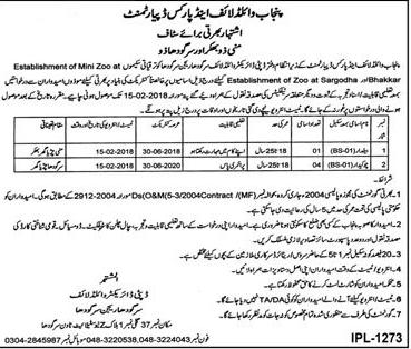 Punjab Forest Department Jobs