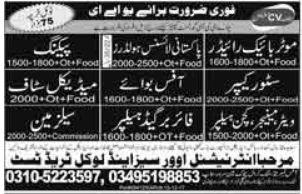 Salesman & Medical Staff Jobs in UAE