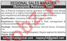 Regional Sales Manager Jobs in Pharmaceutical Company