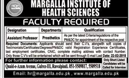 Margalla Institute of Health Sciences MIHS Jobs