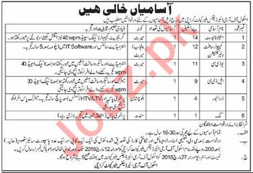 School of Army Air Defence Malir Cantt Karachi Jobs 2018