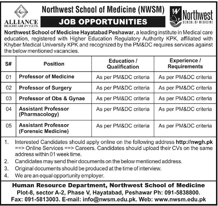 Northwest School of Medicine NWSM  Medical Teaching Jobs