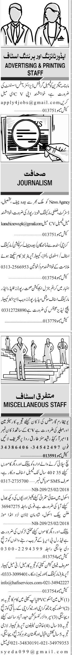 Female Computer Operators, marketing Staff Wanted