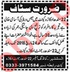 22 Sindh Regiment Okara Cantt Jobs 2018 Mess Waiter