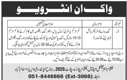 Kalsoom International Hospital Job Open
