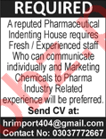 Pharmaceutical Indenting House PIH Jobs
