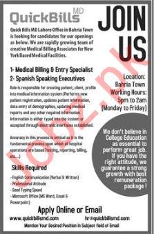 Quick Bills MD Job Opportunities