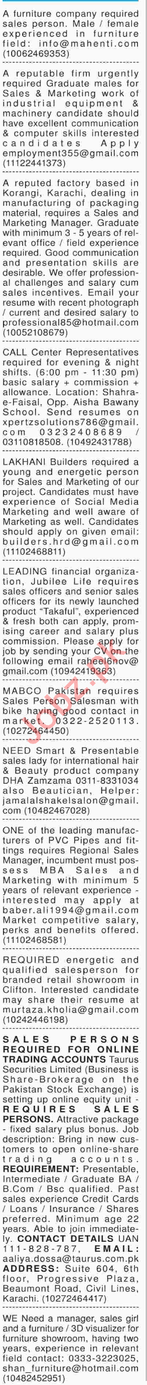 Receptionist & Tele Operator Jobs in Karachi