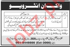 Kulsum International Hospital KIH Islamabad Jobs 2018 Cook