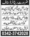 Pakistan Army Retired Personnel Job in China Oil and Gas
