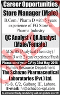 The Schazoo Pharmaceutical Laboratories Pvt Ltd Jobs