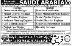 Procurement Manager, Interface Coordinators Job Opportunity