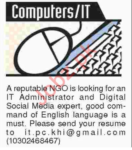 Computers and IT Staff required