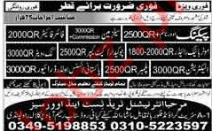 Packing Worker, Watchman, Fire Fighter & Driver Jobs 2018