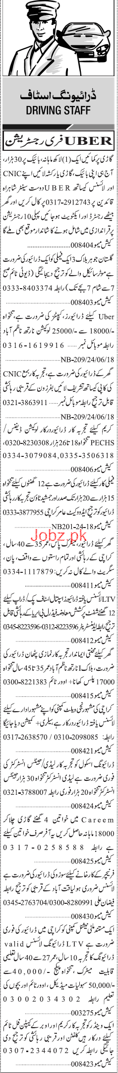 LTV Drivers, HTV Drivers, Tralla Drivers Job Opportunity