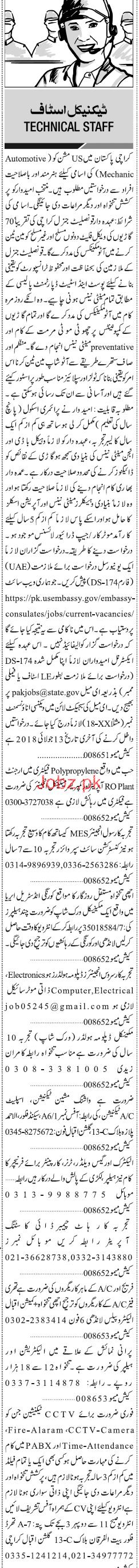 Plant Operators, Mechanical Engineers Wanted