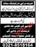 Female Marketing Staff Job in Ghee & Cooking Oil Company
