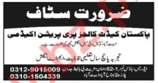Pakistan Cadet College Job 2018 English Teacher