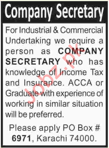 Company Secretary required