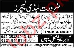 Lady Teachers for Gohar Educational Campus