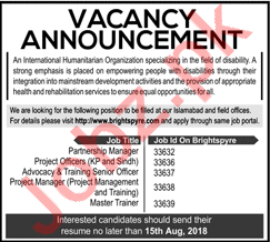 Partnership Manager, Project Officer & Project Manager Jobs