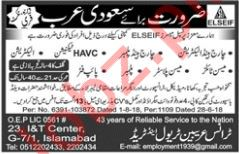 Charge Hand Technician & HAVC Technicians Jobs 2018