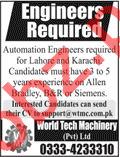 Engineers for World Tech Machinery Pvt Ltd