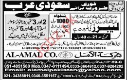 Labor Jobs in Saudi Arabia