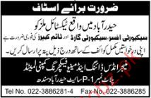 Security Officer Jobs in Indus Dyeing Company