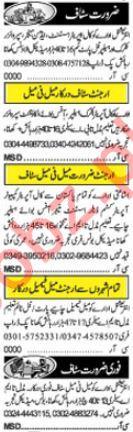 Khabrain Classified Jobs 2018 In Lahore