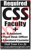 HR Assistant for CSS Academy