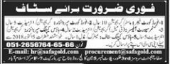 Food Court Manager Jobs in Safa Management Services