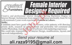 Gourmet Furniture Female Interior Designer Jobs 2018