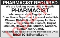 Pharmacists Job Opportunities