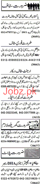 Computer Operator, Receptionists, Assistant, Manager Jobs
