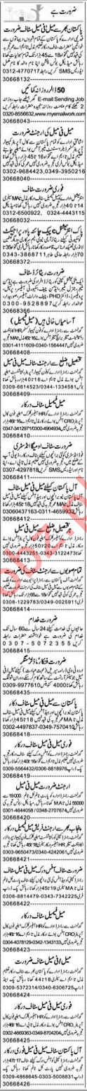 Daily Express Newspaper Classified Jobs 2019 In Lahore