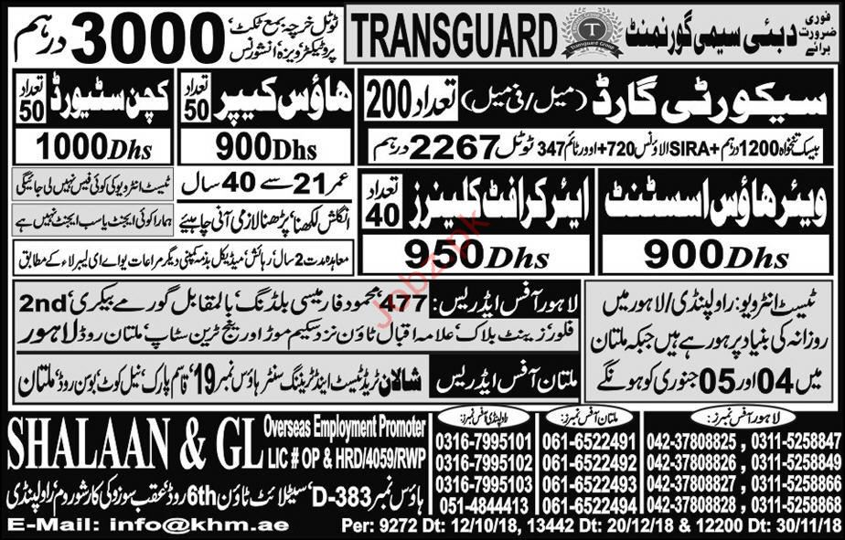 Warehouse Assistant House Keeper Jobs
