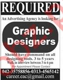 Graphic Designers Jobs 2019 in Lahore