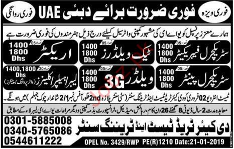 Structural Fabricator Jobs in UAE
