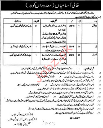 District Education Authority Clerical Jobs 2019