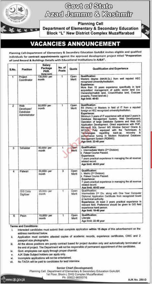 Department of Elementary & Secondary Education Jobs 2019