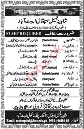 Frontier Medical College Jobs 2019 in Abbottabad