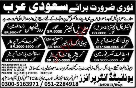 Electrical Engineer Jobs in Saudi Aabia