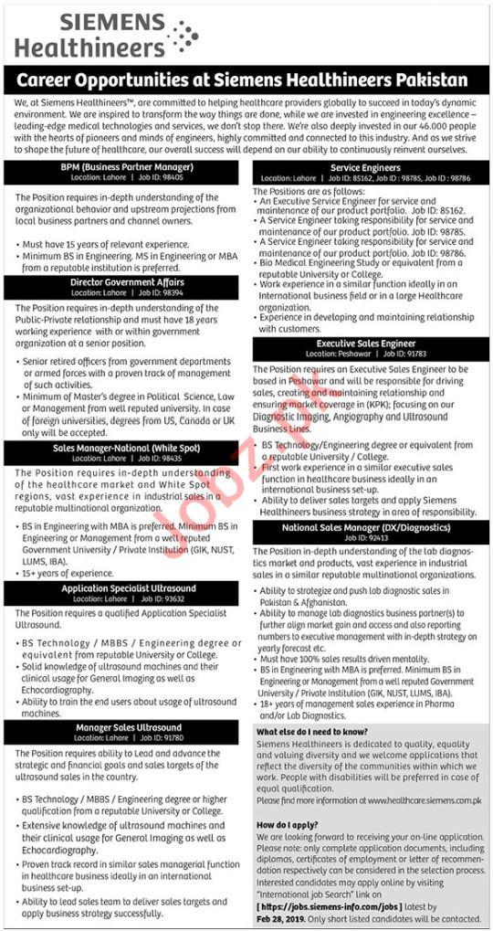 Siemens Healthineers Business Partner Manager Jobs